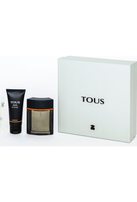Tous Man Intense 3in1 Gift Box (Eau De Toilette 100ml + Eau De Toilette 10ml + Shower Gel)