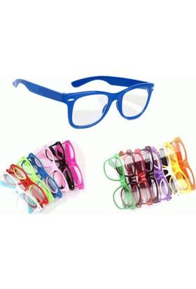 Toptancı Kapında Renkli İmaj Gözlüğü - Mavi