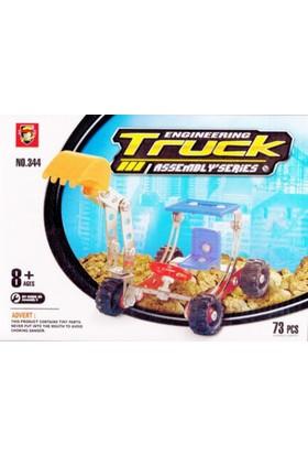 Toptancı Kapında 73 Parça Metal Lego Kepçe - V52
