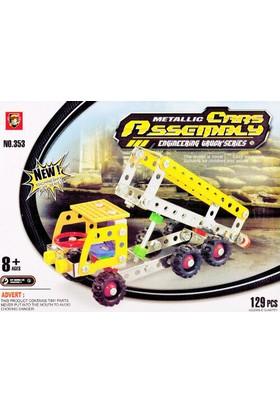 Toptancı Kapında 129 Parça Metal Lego Kamyon - V43