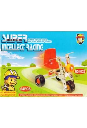 Toptancı Kapında 64 Parça Metal Lego Bisiklet - V34