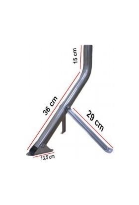 Ramtech Çanak Antenler İçin Eğri Montaj Ayağı