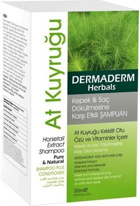 Dermaderm Herbals Kepek & Saç Dökülmesine Karşı Etkili Şampuan 300ML