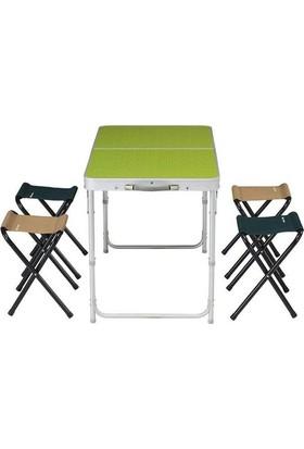 Vip Piknik Masası 4/6 Kişilik Katlanır Taşınabilir Masa