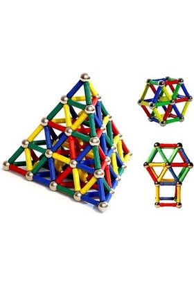 Vip 84 Parça Manyetik Lego Seti