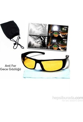 Vip Anti-Far Gece Sürüş Gözlüğü