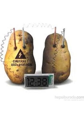 Vip Elektriğini Patatesten Üreten Dijital Saat