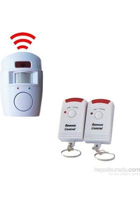 Vip Hareket Dedektörlü Uzaktan Kumandalı Kablosuz Alarm Sistemi