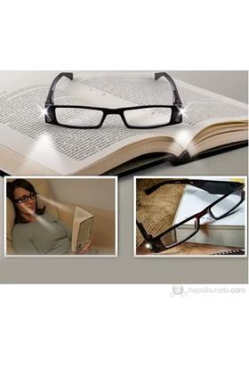 Vip Işıklı Okuma Gözlüğü - Numarasız