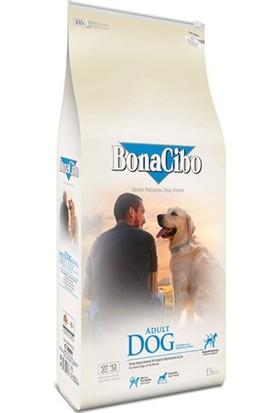BonaCibo Adult Dog Tavuklu ve Balıklı Yetişkin Köpek Maması 15 KG
