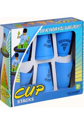Başel Cup Stacks Mavi