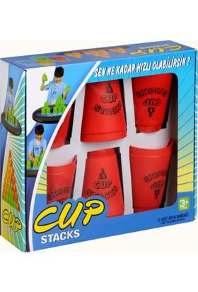 Başel Cup Stacks Kırmızı