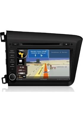 Civic Honda Navitech Multimedya Sistemi - Navigasyon