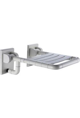 Creavit Katlanır Banyo Oturağı Taşıma Kapasitesi: 120 Kg Nylon Kaplama