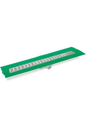 Creavit Paslanmaz Süzgeçli Plastik Gövdeli Yalıtımlı Duş Kanalı 60X7X8Cm