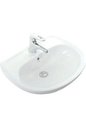 Creavit Oval Lavabo 40X50 Cm Beyaz