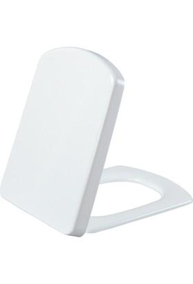 Creavit Sorti Duroplast Amortisörlü Klozet Kapağı Beyaz