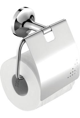 Creavit Neo Kapaklı Tuvalet Kağıtlığı Krom
