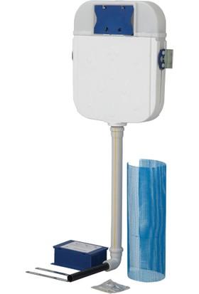 Creavit Tuvalet Taşı Uyumlu Fotoselli Gömme Rezervuar
