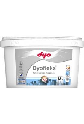 Dyo Dyofleks Sıvı Çatı İzolasyon Malzemesi 2,5Lt. Beyaz