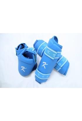 Kihon Karate Kaval Ve Ayaküstü Koruyucu Set Mavi