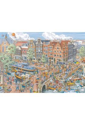 Ravensburger 191925 Amsterdam Karikatür Puzzle (1000 Parça)