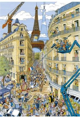 Ravensburger 195039 Paris Karikatür Puzzle (1000 Parça)