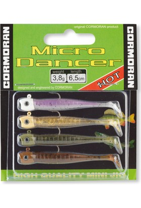 Cormoran Micro Dancer Color Mix 1 Silikon Yem