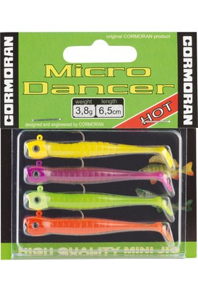Cormoran Micro Dancer Color Mix 2 Silikon Yem