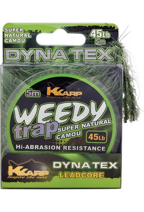 K-Karp Weedy Trap Hook Leader Serisi 5M Öncü Misina