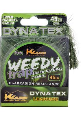K-Karp Weedy Trap Leadcore Serisi 5M Öncü Misina - 45 Lb