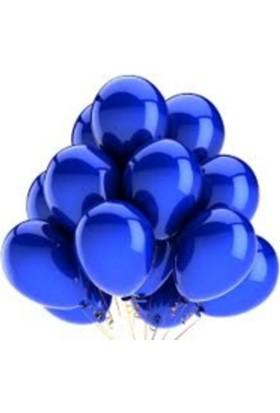 Elitparti Lacivert Latex Balon 5'li