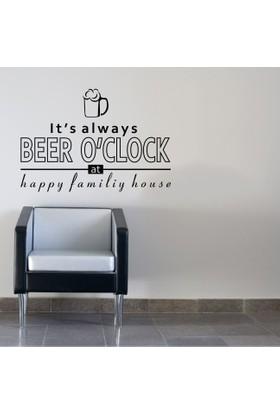 Beer O'clock Duvar Sticker