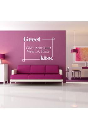 Great kiss Duvar Sticker