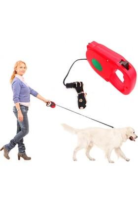 Uzayıp Kısalabilen Mekanizmalı Köpek Tasması