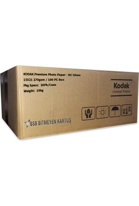 Kodak Ultra Premium Glossy,Parlak 15X21 270gr 1 Koli 20 Paket