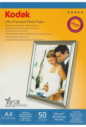 Kodak Ultra Premium Glossy,Parlak A4 270Gr/m² Fotoğraf Kağıdı 20 Yaprak