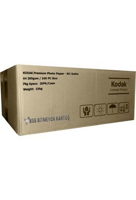Kodak Ultra Premium Satin,Mat A4 260gr 1 Koli 20 Paket