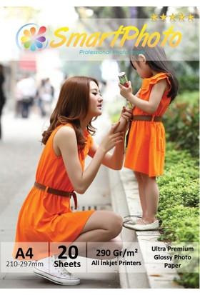 Smart Photo A4 Parlak (Glossy) 290 Gr/m² 50 Adet/1Paket Profesyonel Fotoğraf Kağıdı