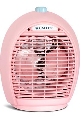 KumtelLx-6331 Fanlı Isıtıcı Pembe