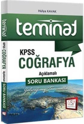 657 Yayınları Kpss Teminat Coğrafya Açıklamalı Soru Bankası - Hülya Kavak