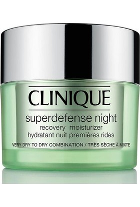 Clinique Superdefense Night Recovery Moisturizer 50 Ml