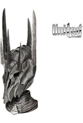 United Cutlery Lotr Helm Of Sauron With Stand Miğfer