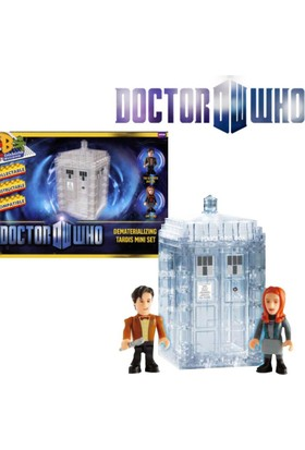 Underground Toys Doctor Who: Character Building Tardis Dematerialising Set