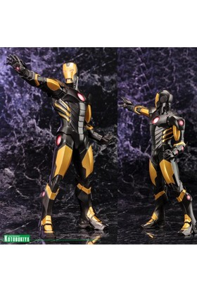 Kotobukiya Marvel Comics: Iron Man Avengers Now Artfx+ Black Statue 1/10