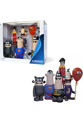 Dc Collectibles Dc Nation Aardman Action Figure 5 Pack