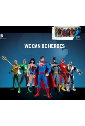 Dc Collectibles Justice League New 52 7 Pack Figure Box Set