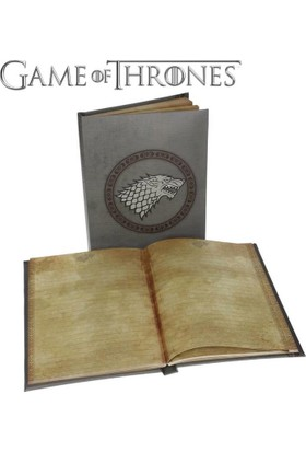 Sd Toys Game Of Thrones Stark Notebook With Light Işıklı Defter