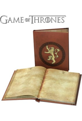 Sd Toys Game Of Thrones Lannister Notebook With Light Işıklı Defter