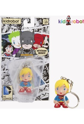 Kidrobot Dc Universe Supergirl Keychain Anahtarlık